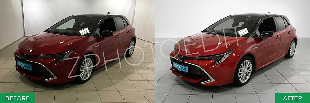 Car Image Clipping Services
